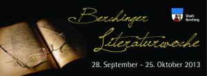 Berchinger Literaturwoche 2013