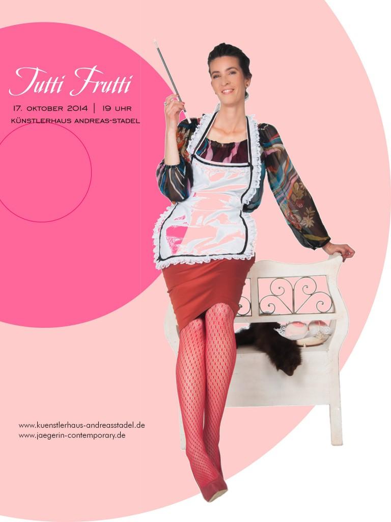 """""""Tutti Frutti"""" auf Facebook & am 17. Oktober 2014 um 19 Uhr live im Künstlerhaus Andreas-Stadel Regensburg"""